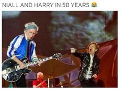 See, it's funny because it's true. Not to compare 1D to the Rolling Stones. Slightly different levels....