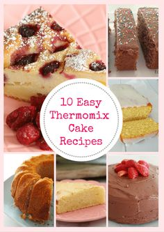 Making cakes in your Thermomix is an absolute breeze. Our favourite 10 Easy Thermomix Cakes are so simple. in fact, you'll be eating a slice of delicious cake before you know it! We hope you enjoy Cupcake Recipes, Cupcake Cakes, Dessert Recipes, Cupcakes, Lemon And Coconut Cake, Cinnamon Cake, Eggnog Recipe, Thermomix Desserts, Savoury Cake