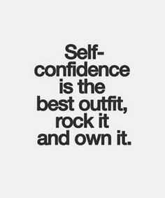 Great Mojo Quote - Self-confidence