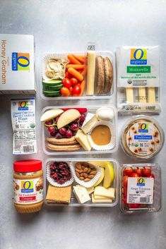DIY Protein Boxes are perfect for meal-prep. Learn how to make your own healthy Protein Box at home to save money & time. Snack Boxes Healthy, Healthy Packed Lunches, Healthy Protein Snacks, Lunch Snacks, Healthy Travel Snacks, Protein Lunch, Work Lunches, Lunch Meal Prep, Healthy Meal Prep
