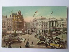 Piccadilly Circus , London . Piccadilly Circus, Old Postcards, Big Ben, England, London, Painting, Travel, Board, Viajes