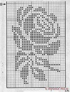 Knitting Mittens Chart Tapestry Crochet Ideas For 2019 Crochet Patterns Filet, Crochet Bedspread Pattern, Crochet Curtains, Crochet Diagram, Tapestry Crochet, Crochet Doilies, Knitting Patterns, Crochet Flowers, Crochet Ideas