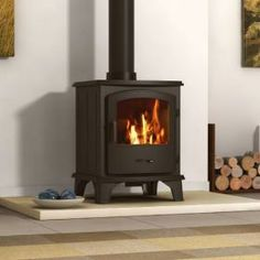Hillandale Multi Fuel Stoves | Buy 5KW Monterrey 5 Multi Fuel Stove - Defra approved Online | UK Stoves