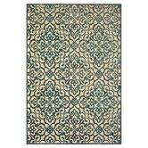Found it at Wayfair - Saphir Yardley Cream/Marine Area Rug