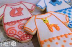 Baby Shower Sugar Cookies Sweet17Cookies.Etsy.com