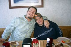 Steven with his sister Laura. One of my favorite pictures. Steven died November 11, 2011 of Sarcoidosis, a rare auto immune disease.