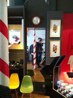 """...ici les vases BOUTIQUE à PARIS.    """"Origami Jewellery""""  LA BOUTIQUE  10 rue de Birague  75004 Paris"""