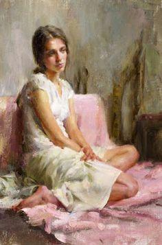 Nosotros Somos Quien Somos: Bálsamo Painting Of Girl, Figure Painting, Portrait Art, Portraits, Muse Kunst, Renaissance Kunst, Double Exposition, Figurative Kunst, Muse Art