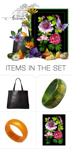 """decorate that bag"" by tinkertot ❤ liked on Polyvore featuring art"