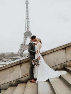 Paris and romance, they go together like champagne and oysters. Which is why Paris, the city of love, is the perfect place to elope. Paris Elopement, Yorkshire Wedding Photographer, Bespoke Design, Green Wedding Shoes, Unique Weddings, Perfect Place, Destination Wedding, Gowns, London