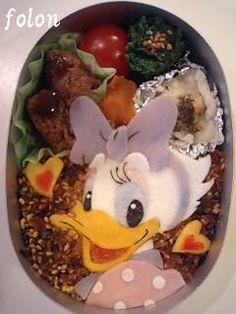 Daisy Duck bento