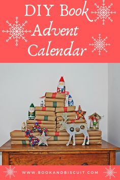 How to Make a Book Advent Calendar. Ideas for making a book advent calendar, you can make this sustainable by using second hand books and recyclable or compostable wrapping. Calendar Ideas, Advent Calendar, Christmas Eve, Christmas Ornaments, Paper Decorations, Book Making, Book Worms, Wrapping, Recycling
