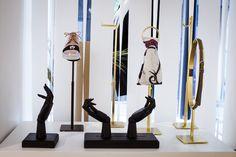 Des portants de la collection Accessoires par Cofrad mannequins