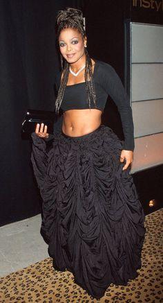 Beautiful Celebrities, Beautiful People, Janet Jackson Videos, Elton John Aids Foundation, 90s Fashion, Womens Fashion, Jackson Family, The Jacksons, Hollywood Walk Of Fame