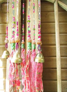 Mobile Bells Décor-Wind Chime Ceiling Decoration by RONITPETERART