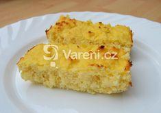 Recept na ultra jednoduchý koláč bez mouky a zbytečného cukru navíc. Cornbread, Vanilla Cake, Paleo, Sweet, Ethnic Recipes, Food, Fitness, Millet Bread, Candy