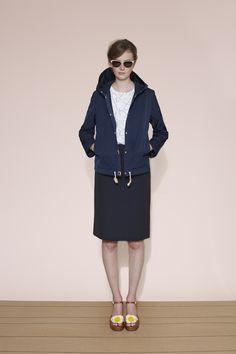 Orla Kiely spring 2015 lookbook #skirt #jacket