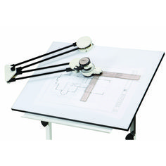 Harbor Freight Tools Drafting Machine - Steel Tubing Protractor Arms: Drafting machine clamps to any surface for layout precision This excellent drafting machine clamps to any drawing board - Visit Harbor Freight Tools For More Information. Woodworking Joints, Woodworking Patterns, Woodworking Projects Diy, Woodworking Furniture, Custom Woodworking, Fine Woodworking, Woodworking Classes, Popular Woodworking, Pallet Projects