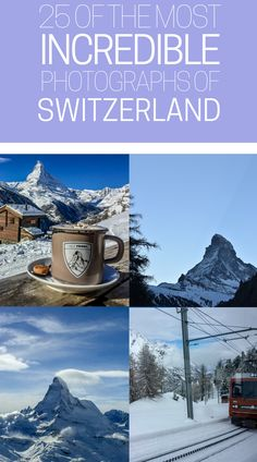 Beautiful photos of the Swiss Alps. 25 photos of the Swiss Alps submitted by travel bloggers