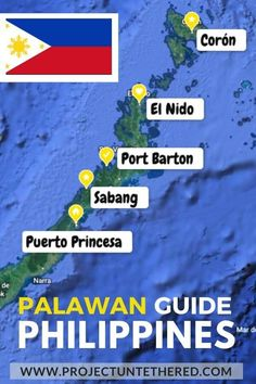 Looking for epic things to do in Palawan, Philippines? If so, this Ultimate Palawan itinerary will show you exactly how to plan the perfect Palawan island adventure. Whether you need a 3-day plan or a full-blown 3-week Palawan itinerary, this detailed day-by-day Philippines travel guide covers all the best things to do in Palawan. #palawan #philippines #puertoprincesa #elnido #coron #portbarton #undergroundriver #palawanisland