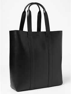 Leather tote | Gap | 74.99 euros | Free Shipping