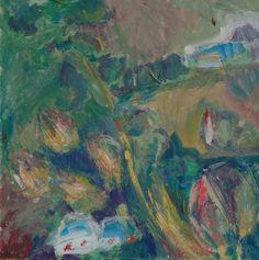 Small Carpathians motive - Tetyana Snezhyk painting