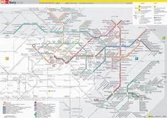 mapa tranvias berlin