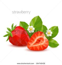 Find Polygonal Berry Strawberry Vector Illustration stock images in HD and millions of other royalty-free stock photos, illustrations and vectors in the Shutterstock collection. Low Poly, Geometric Drawing, Geometric Animal, Vegetable Design, Polygon Art, Art Icon, Fruit Art, Anime Art Girl, Art Sketchbook