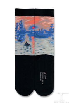 Masterpiece - Sunrise Soleil Levant   JHJ Design - The Art of Wearing Socks
