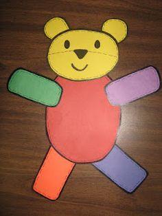 Kindergarten Rocks!: Bear~y Cute Teddy Bear Unit