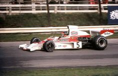 1974 Emerson Fittipaldi , McLaren M23 Ford Cosworth