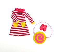 Lottie Doll Accessories - Raspberry Ripple outfit and accessories. Available in store at Giddy Goat Toys, Didsbury, Manchester, or on our online store. Raspberry Ripple Ice Cream, Ice Cream Swirl, Toys For Girls, Kids Toys, Ropa American Girl, Pink Ballet Flats, Realistic Dolls, Dress Up Dolls, Boy Doll