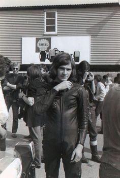 A young Barry Sheene.