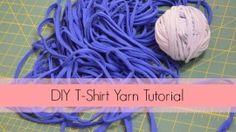 How to Make T-Shirt Yarn [DIY Tutorial] More