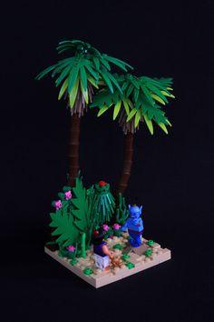 Genie and Aladdin Vignette Lego Disney, Disney Cruise, Disney Pixar, Hama Beads Minecraft, Lego Minecraft, Minecraft Skins, Minecraft Buildings, Perler Beads, Lego Christmas