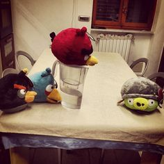 #AngryBirds #puppets #puppetswar