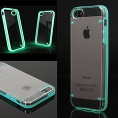 Luminous Style Glowing Hard Bumper Skin Back Case Cover For iPhone 5 5G 5th Blue  If it'd help me locate my phone, I  want it