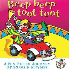 Beep Beep Toot Toot - Journey Songs Rhymes New Sealed CD Children s Kids Available from www.sonusmedia.co.uk