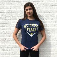 MY HAPPY PLACE Softball T-Shirt