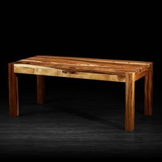 "Ravino Dining Table // Natural (72""L x 36""W x 30""H)"
