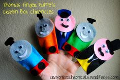 Thomas The Train Craft | Crayon Box Chronicles