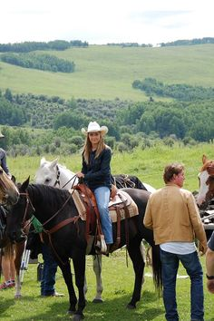 ♥ Cowgirl ❦ Amber and Stormy (aka Spartan) Absolutely LOVE this program!! Wish I could be a part of it!!!!