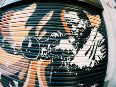 The Gothic Quarter Barcelona Street, Saxophone, Stencils, Graffiti, Street Art, Gothic, Goth, Saxophones, Templates