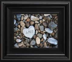 This is what I want to do with our river rocks from Washington and put each of the girls' names on a rock.