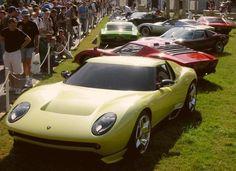 Lamborghini Miura spider chez Autodrome-Cannes, importateur Pagani, achat vente autos de collection, classic cars