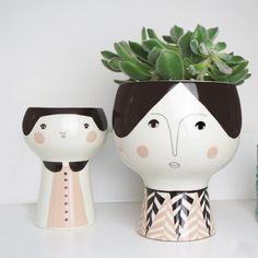 Blumentopf / Vase FLOWER ME HAPPY
