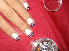 simple acrylic nail designs - Google Search