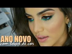 Color dorado y verde. Maquillaje de ojos de fiesta y boda de noche. Golden and green. Evening night wedding party eye makeup. Couleurs vert, doré. Maquillage des yeux pour marriage ou fêtede soir. ▶ Maquiagem de Reveillon com toque de cor - YouTube Soirée https://www.facebook.com/bagatelleoficial Bagatelle Marta Esparza #makeup #doré