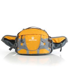 Pin it! :)  Follow us :))  zCamping.com is your Camping Product Gallery ;) CLICK IMAGE TWICE for Pricing and Info :) SEE A LARGER SELECTION of fanny packs and waistpacks at http://zcamping.com/category/camping-categories/camping-backpacks/fanny-packs-and-waistpacks/ - fanny pack, waist pack,  camping, backpacks, camping gear, camp supplies -  Outdoor Hiking Traveling Biking Waist Bag Shoulder Bag Sports Bag Handbag (Yellow) « zCamping.com