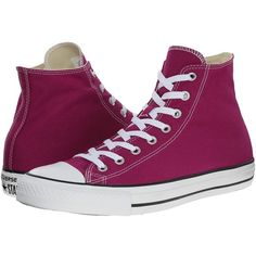 Converse Chuck Taylor All Star Seasonal Color Hi Lace up casual Shoes ($55) ❤ liked on Polyvore
